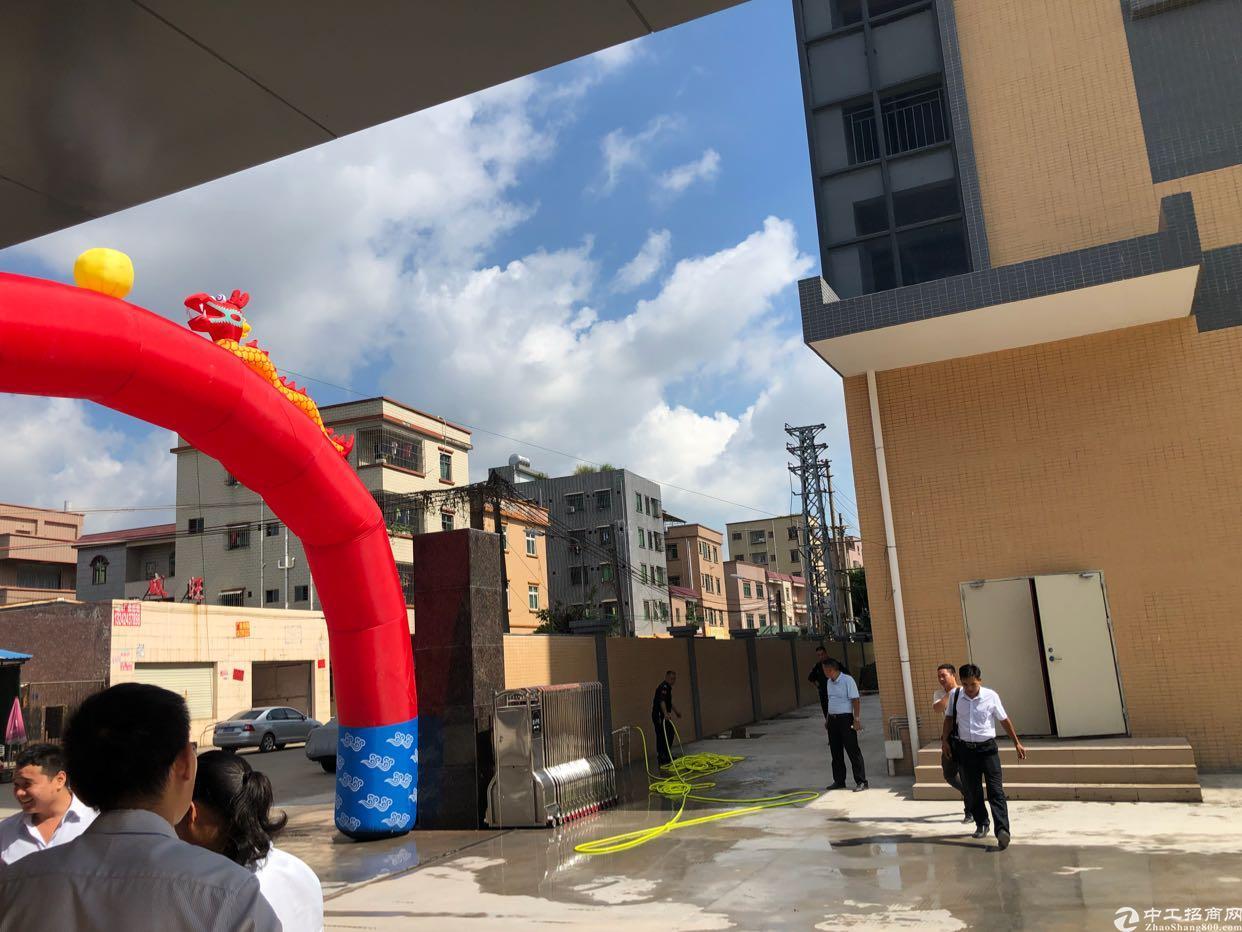 沙田独门独院标准厂房12863平方三层厂房带现成装修