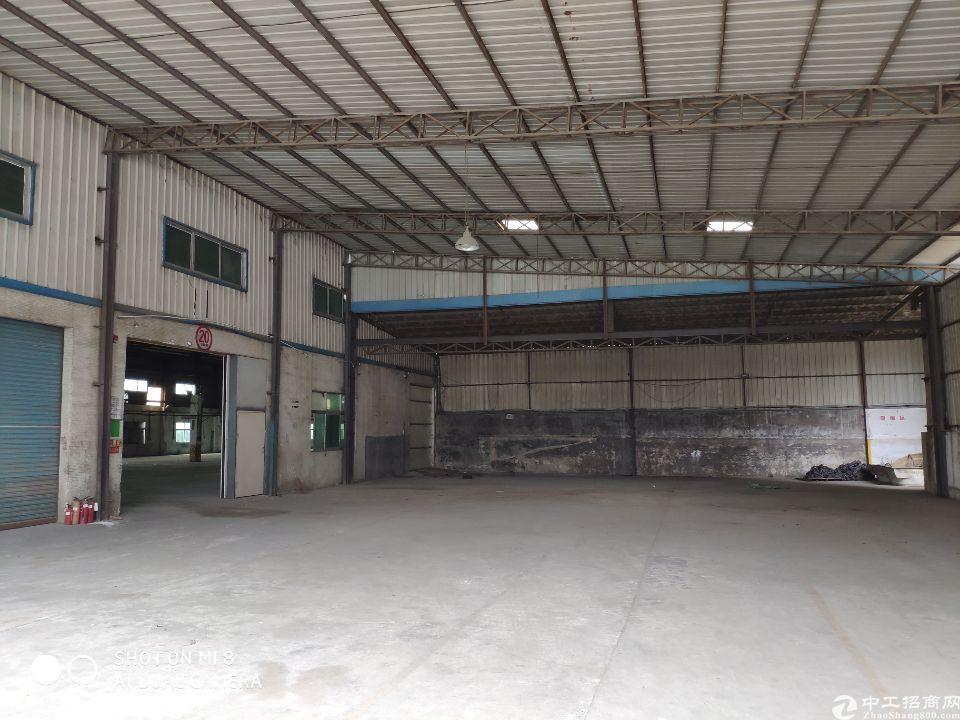 东坑镇900平米铁皮仓库出租