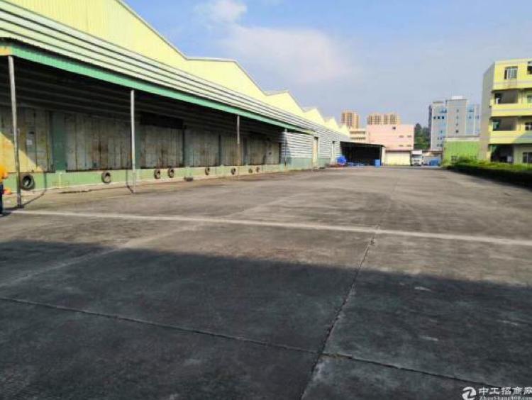 花园式单一层仓库,带卸货平台,丙二类消防