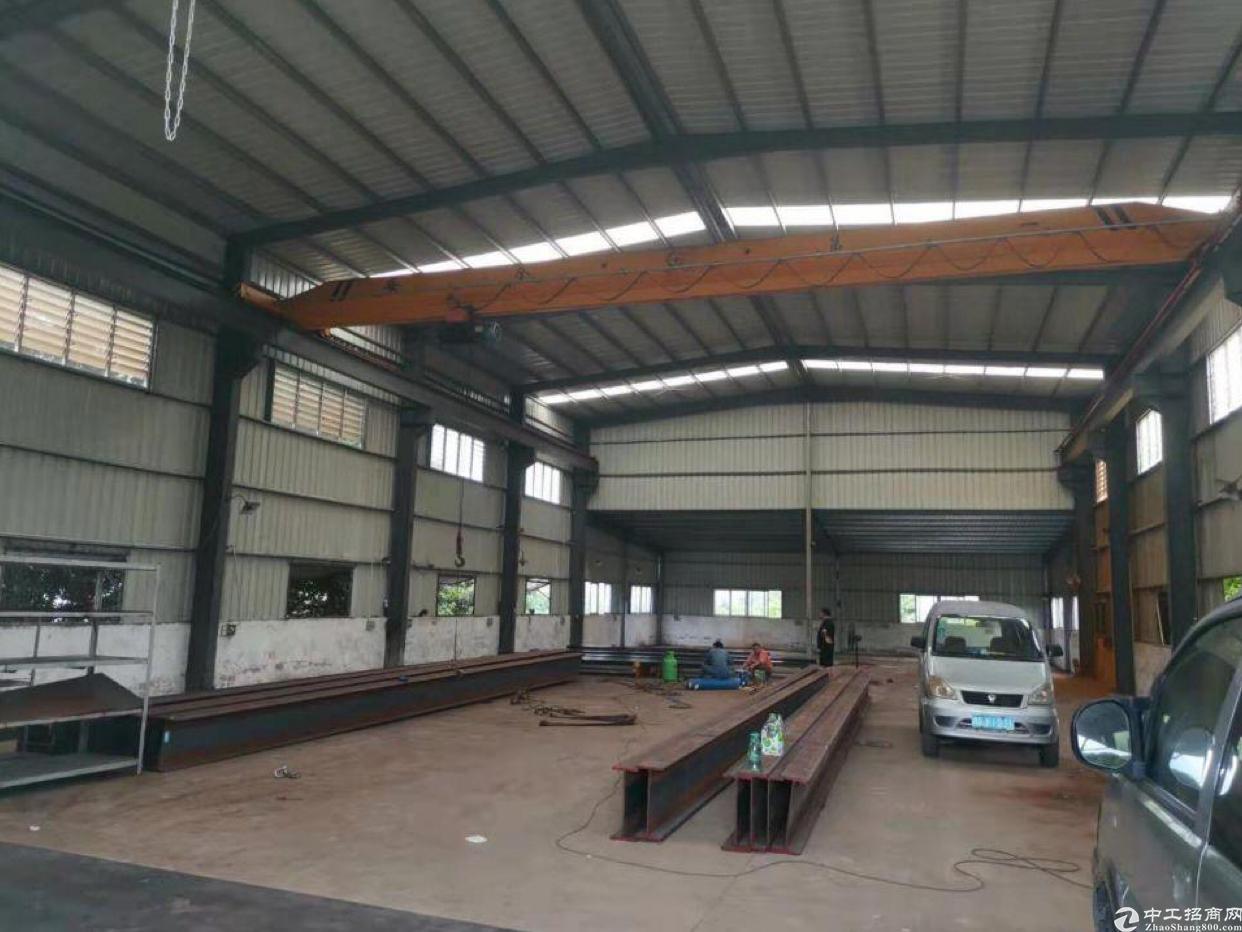 惠州市水口镇新出钢构厂房850平方出租