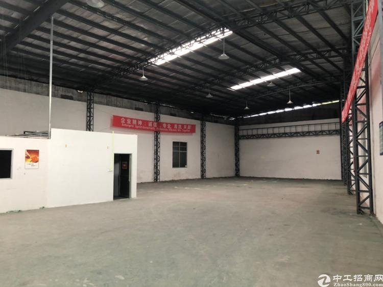 黄埔南岗街道夏园地铁口附近1000平方高台仓