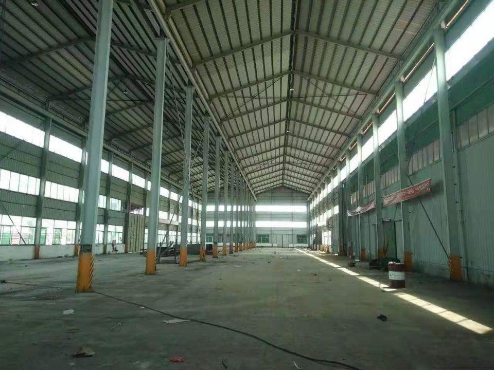 公明龙大高速出口附近惊现16米高钢构厂房,主干道旁交通便利