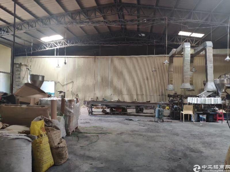 园洲带环评抽粒钢构厂房2000㎡出租