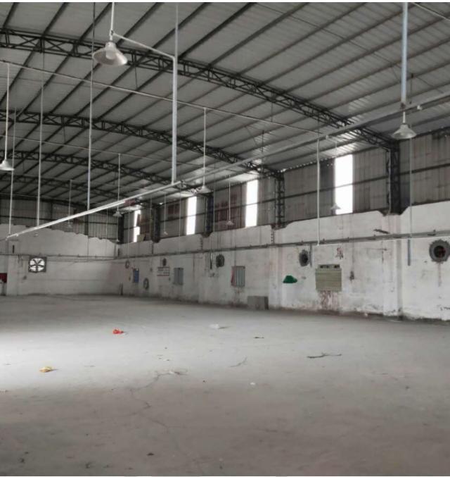 博罗县园洲镇占地1600m²,建筑1350m²厂房出