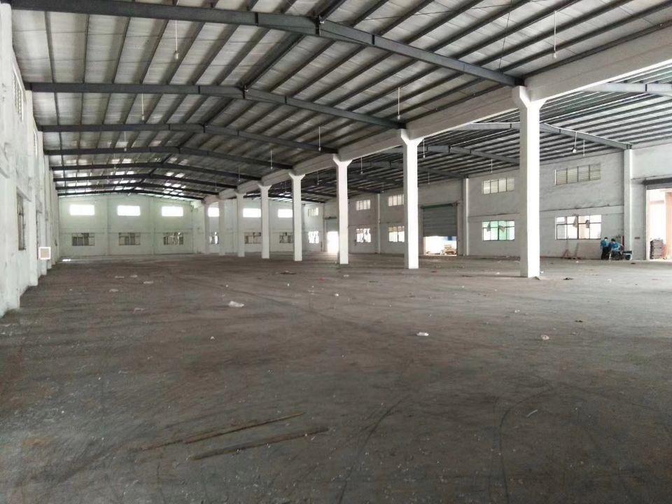 高埗镇工业区原房东仓库出租2000平方价格12交通方
