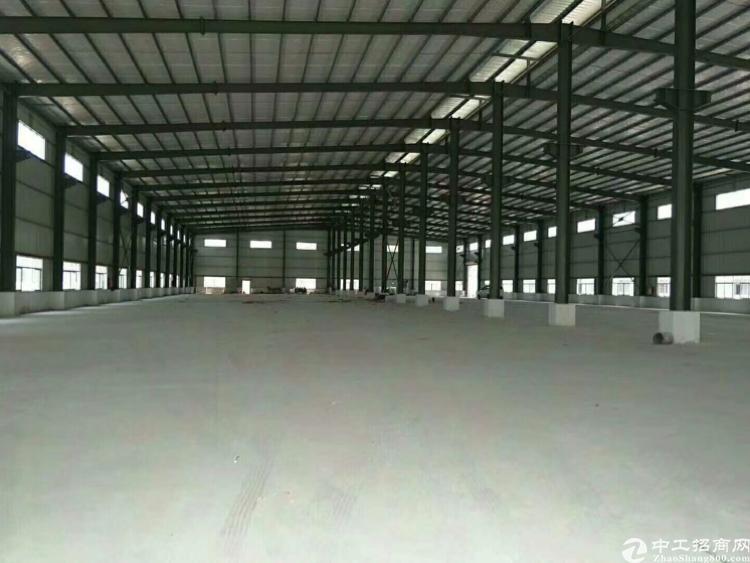 惠州博罗龙华国道边上证件齐全可办环评钢结构独院,可分租