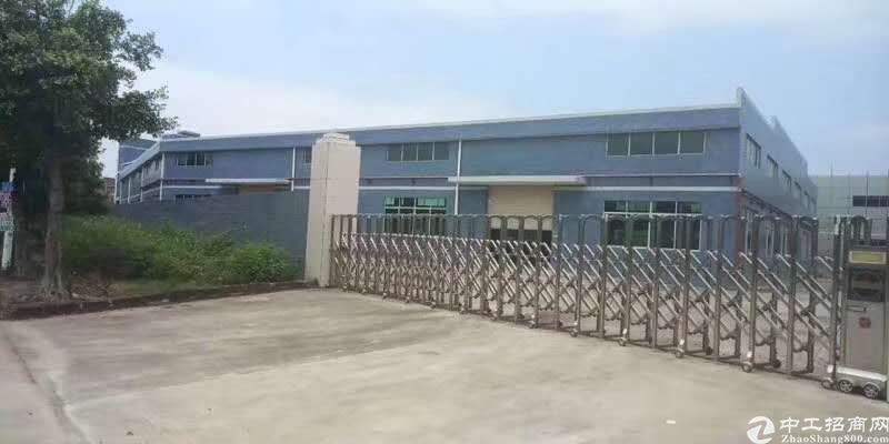 惠阳区原房东红本双证全新标准厂房8000平出租可分租