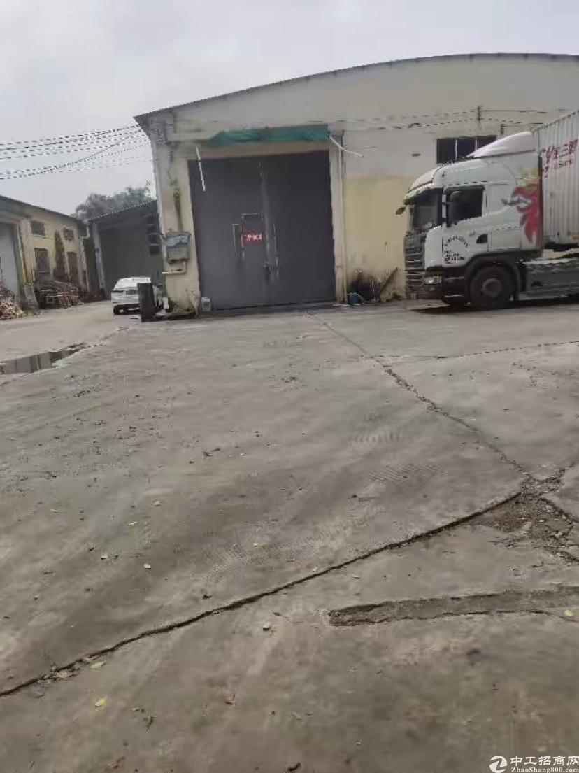 新出天河珠吉大淋岗980平有带卸货平台的仓库出租有环评证
