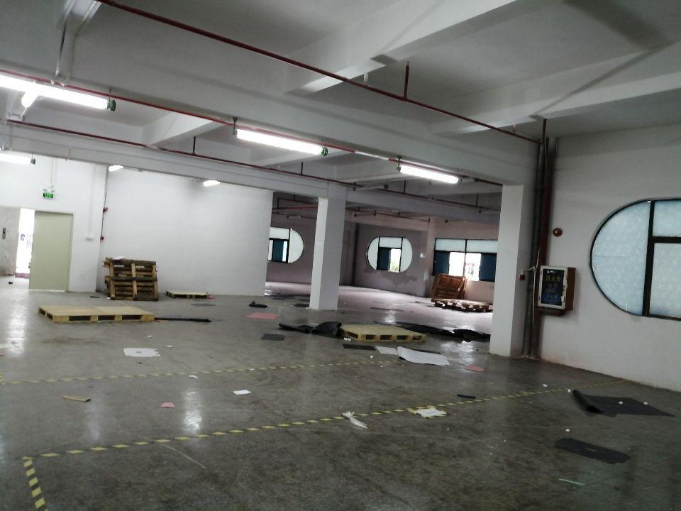 宝安区松岗罗田楼上精装修1100平适合五金电子仓库等行业