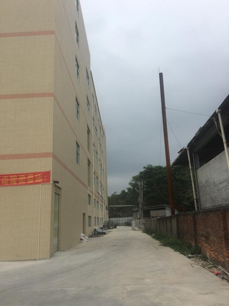 惠州博罗湖镇高速出口楼上全新标准带消防喷淋厂房6000平方