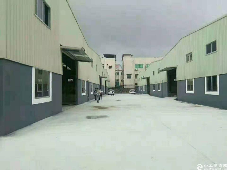 全新钢结构厂房12000方可分租