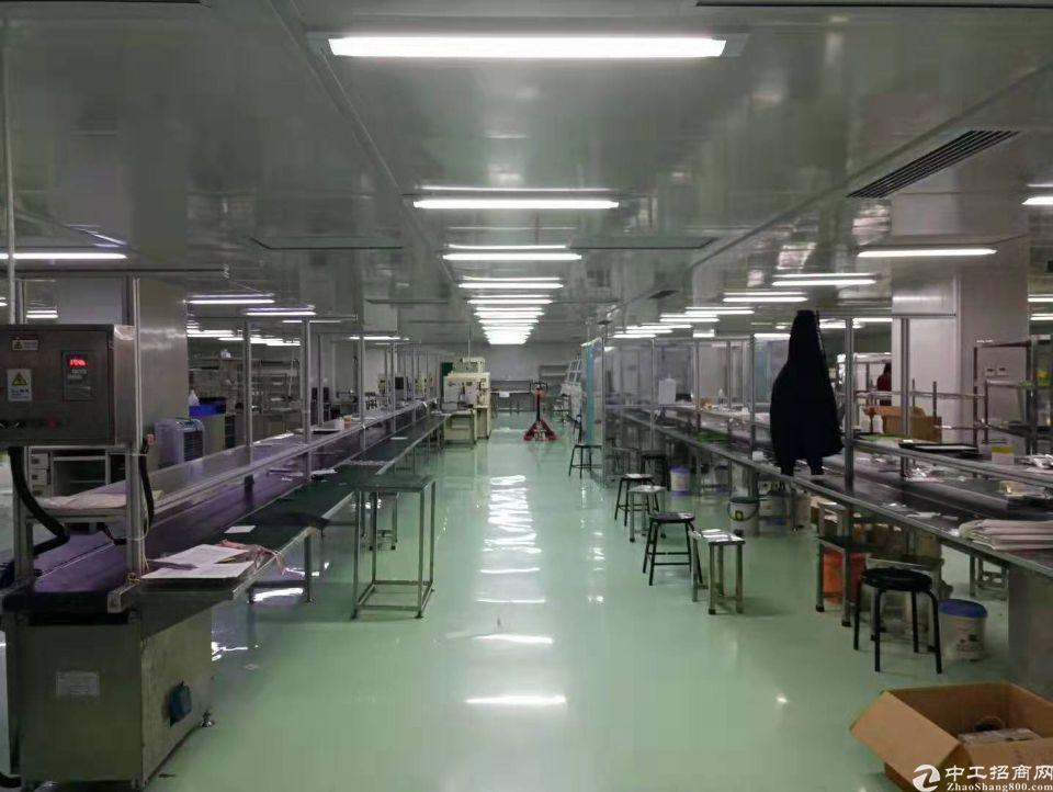 花都镜湖工业区带装修独院分租四楼2000平