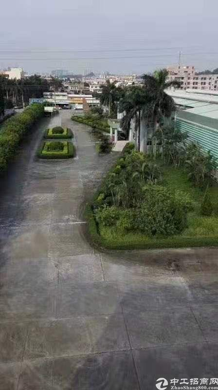 常平镇22000平方花园式单一层独院仓库出租