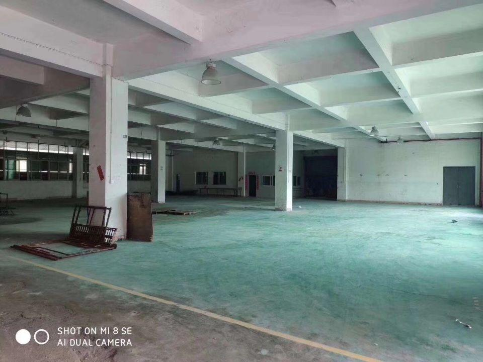 东莞高埗一楼厂房800平方,高度5.5米,适合做仓库小加