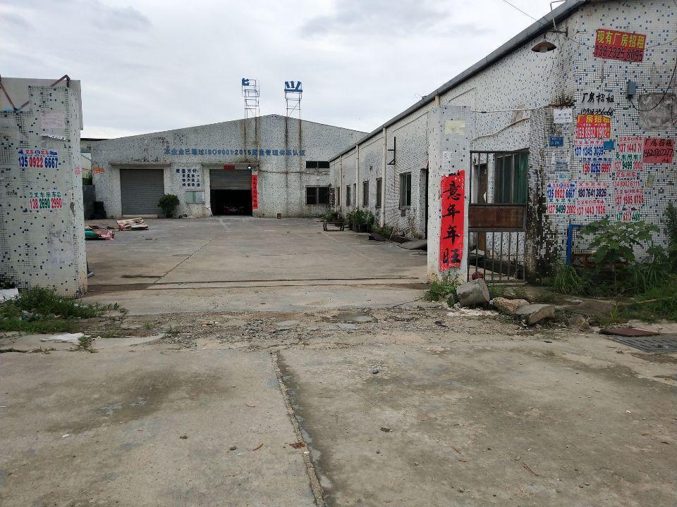 大朗镇犀牛陂村原房东单一层仓库1200平方出租