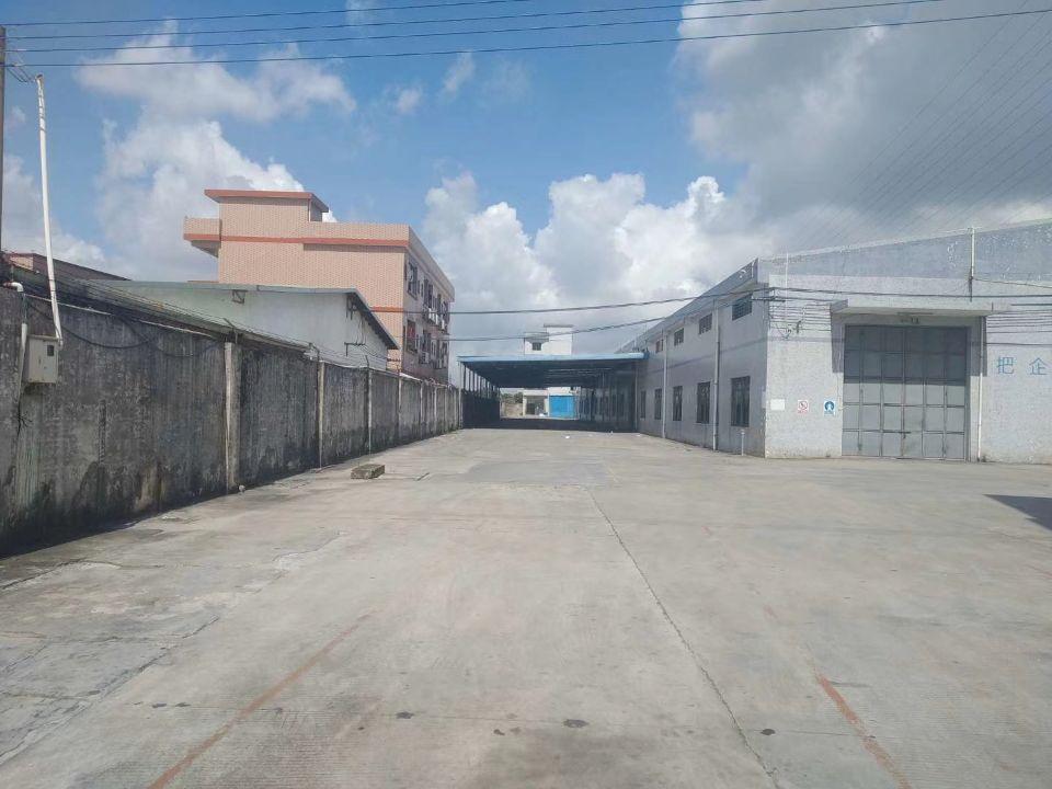 单一层钢构厂房实际面积出租