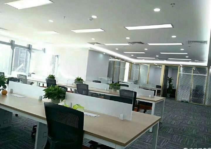 宝安中心区甲级写字楼出租带家私中央空调地铁口图片3