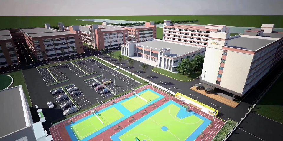 可做学校医院上市公司企业花园式厂房出租!形象设计看得到!现房