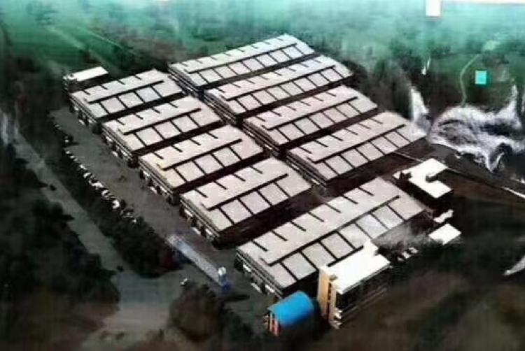 中高13米,带牛角,空地大,南沙大岗7800平米钢构厂房出租