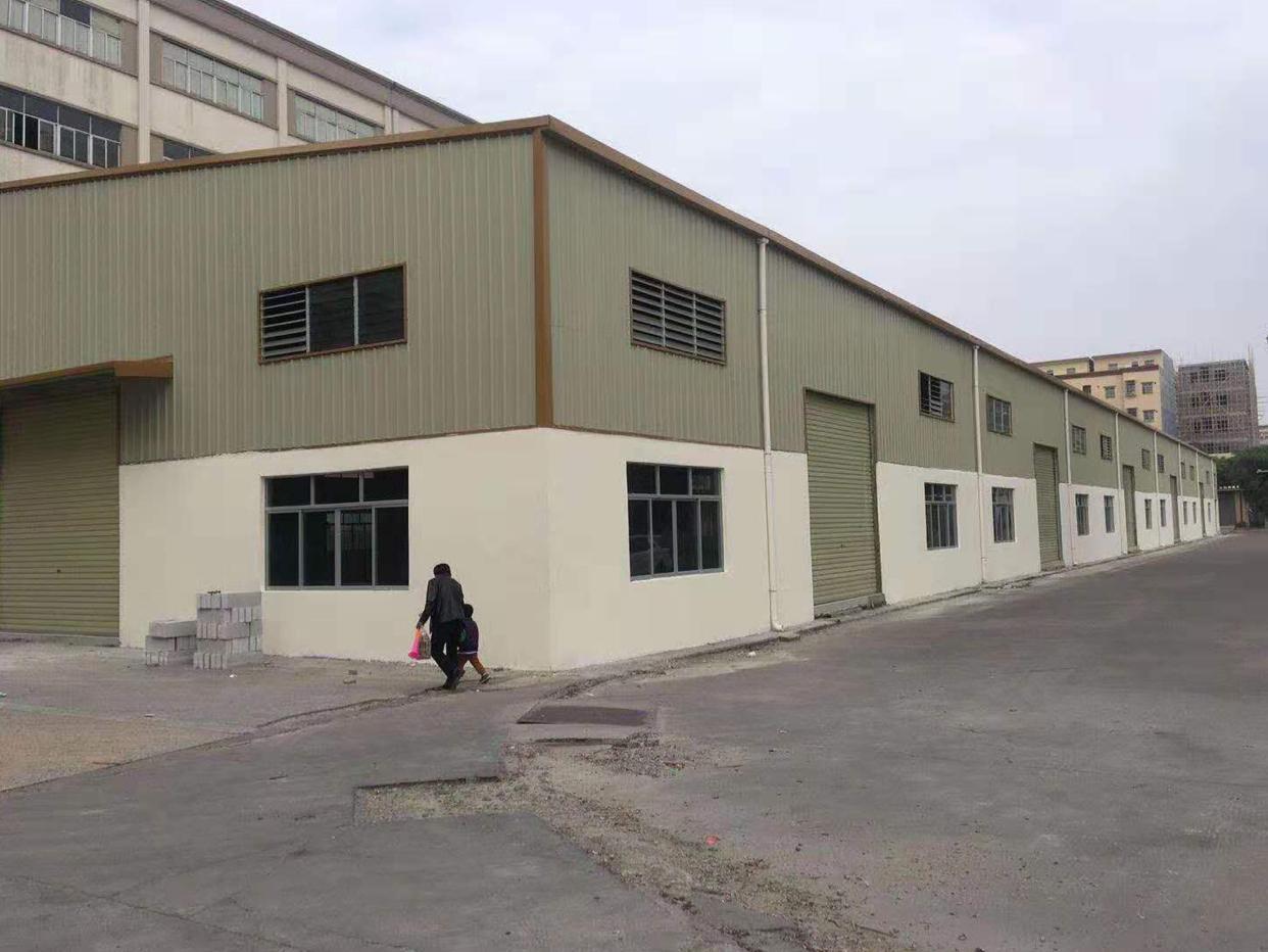 横沥9米高单一层厂房4000平方出租,工业用地可办环评