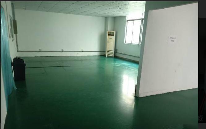 塘厦林村3楼330平小面积地坪漆装修厂房出租适合贸易仓库