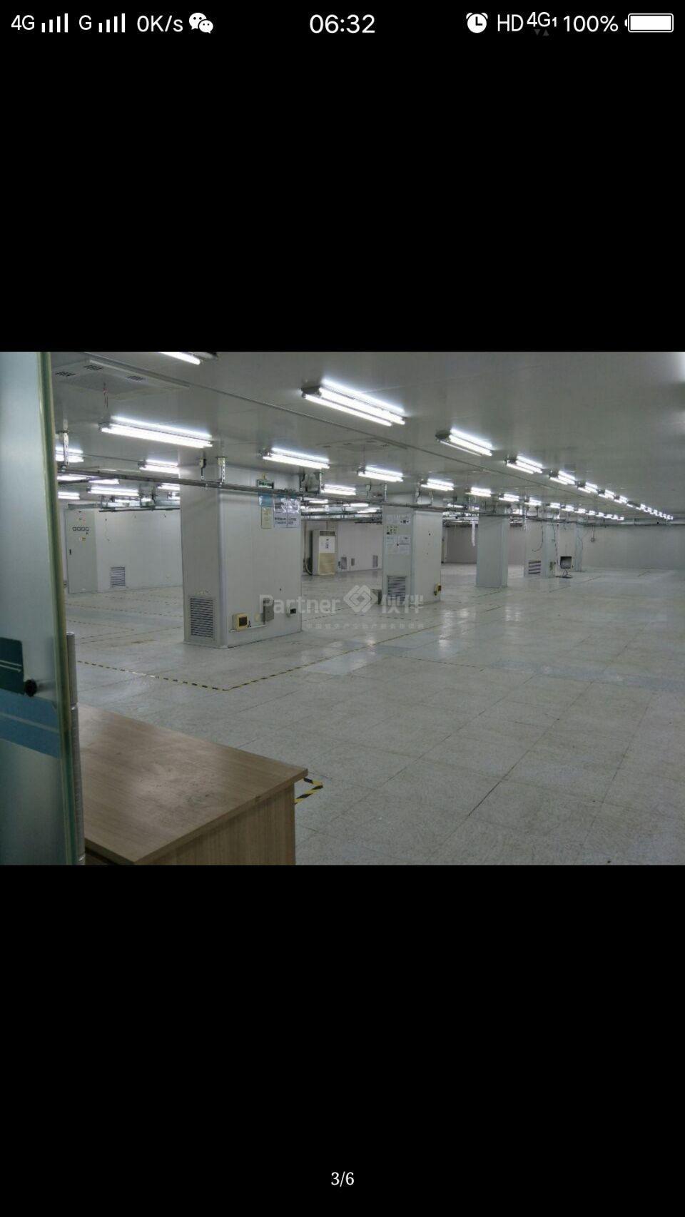 高埗新出千级无尘车间现成装修办公室中央空调二楼面积2625平