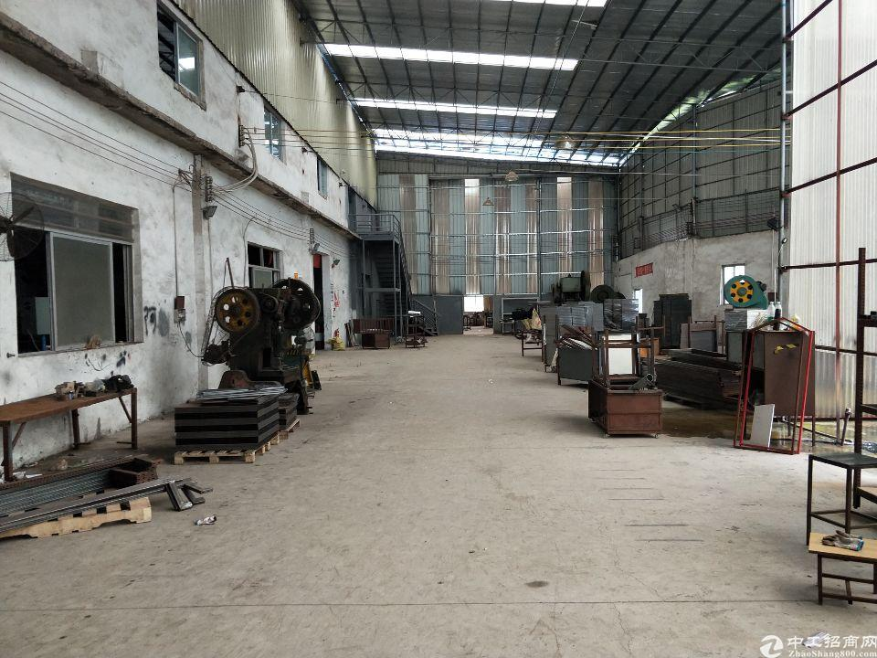 独门独院钢结构厂房8500平方,配套齐全