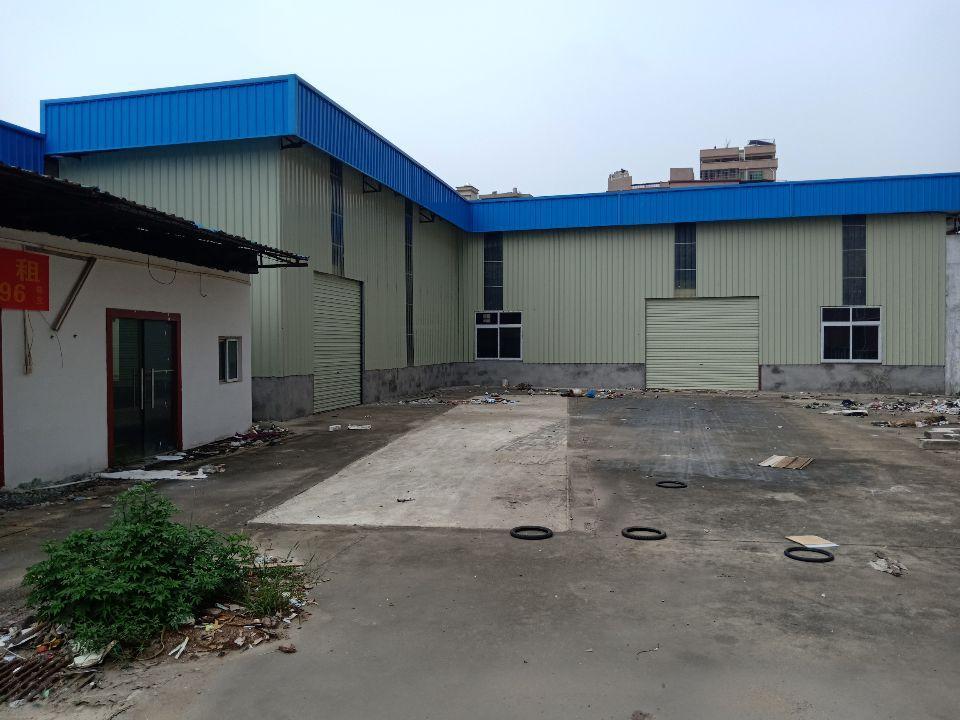 沙田镇全新单一层独院钢构厂房面积5680㎡出租