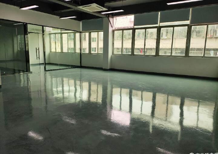 西乡精装写字楼120平办公厂房出租交通便利图片3