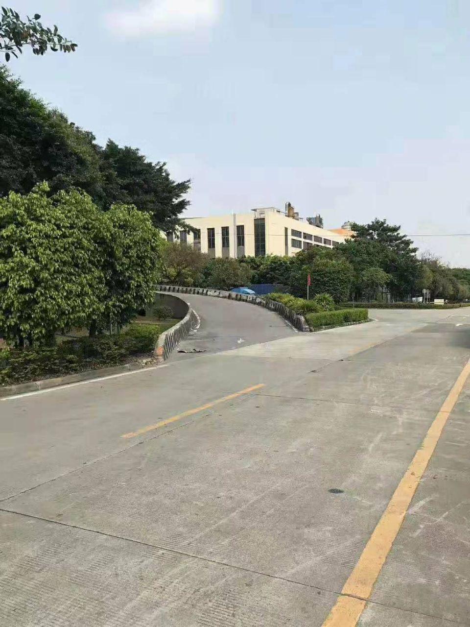 黄埔科学城苏元地铁站一公里独院4000平标准厂房带高台