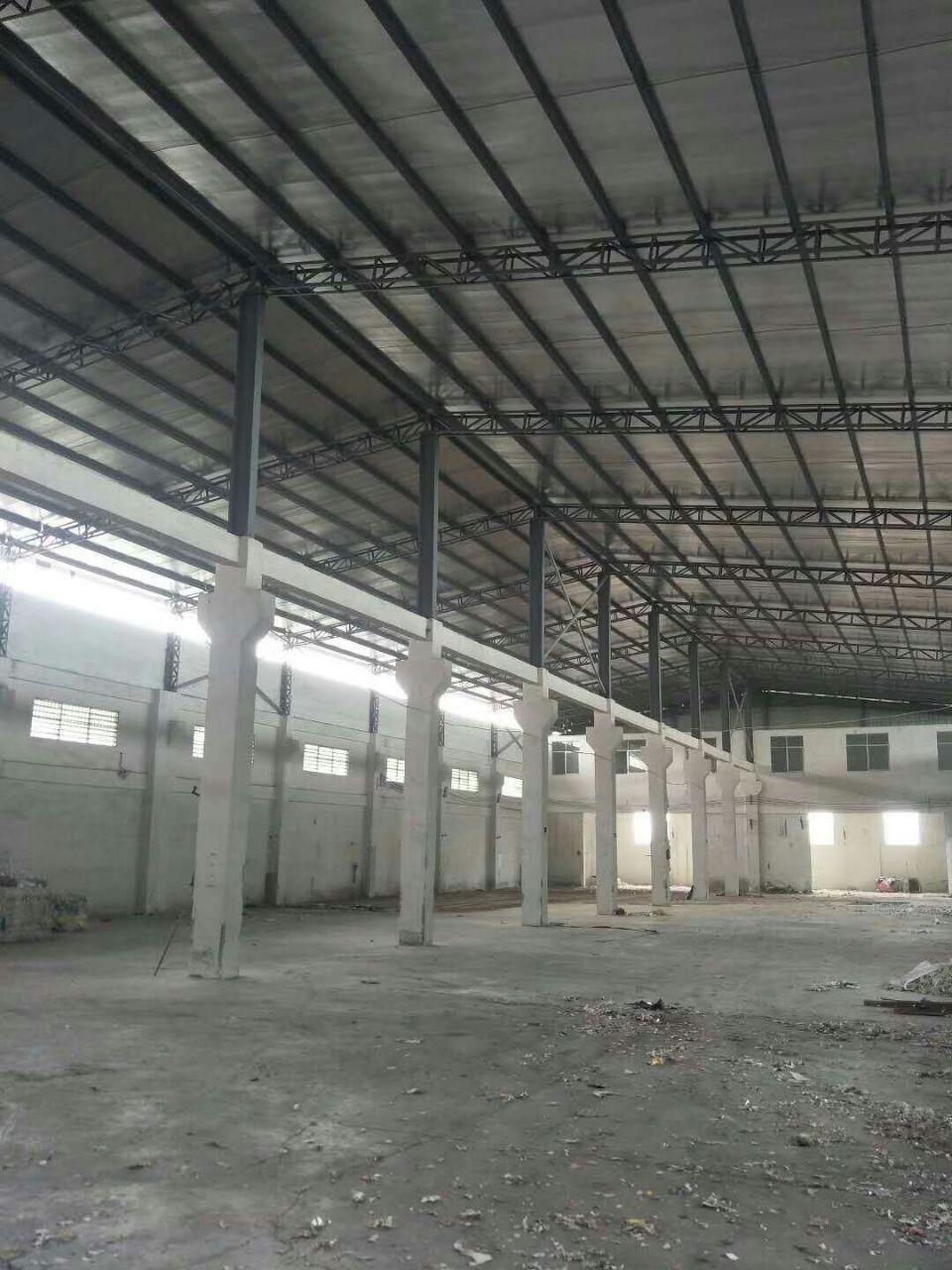东城莞龙路附近独院单一层钢结构厂房仓库出租
