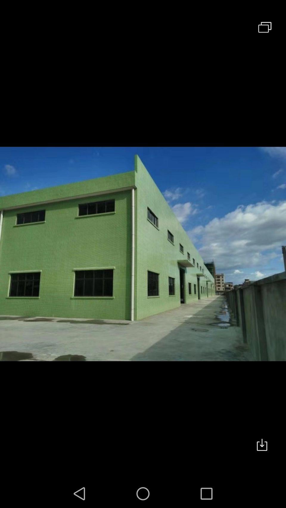 村委集体建厂房,占地6500,建筑5000.侣价1500万