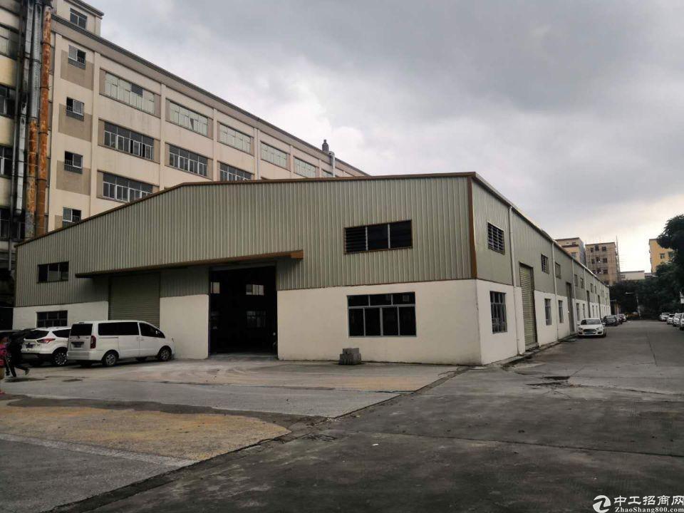 横沥镇大型工业区单一层钢构厂房