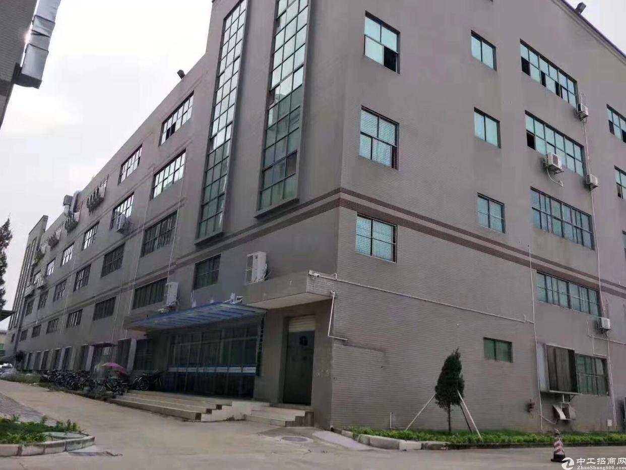 东莞黄江现有重工型工业用地厂房5000平出租,500平起分
