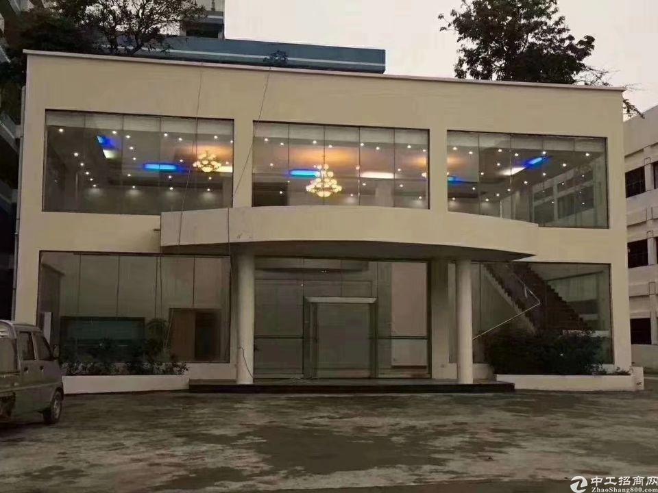 高速出口全新精装修独门独院标准厂房出租