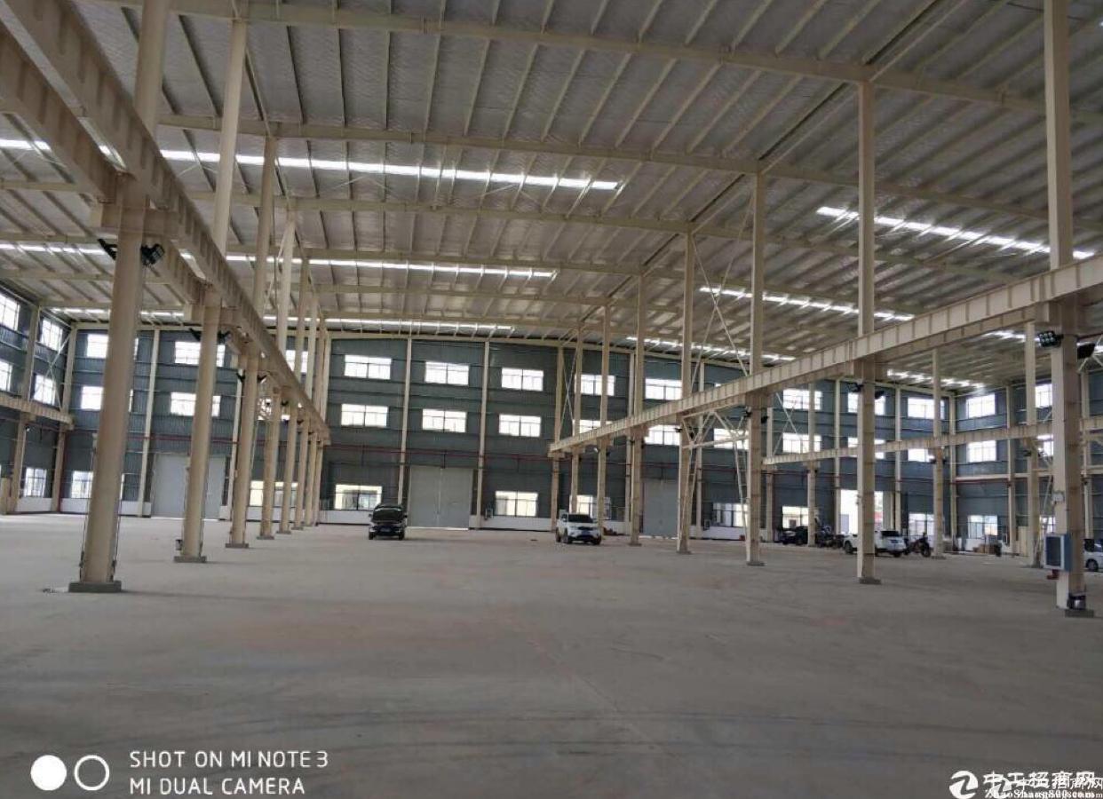 黄陂武湖工业集中区少量钢构厂房出租