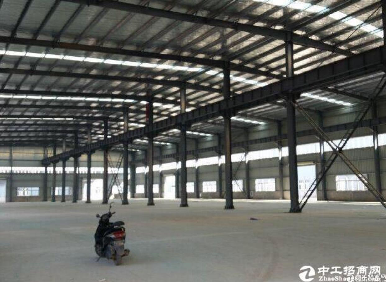 前川20000方单层钢构厂房低价出租