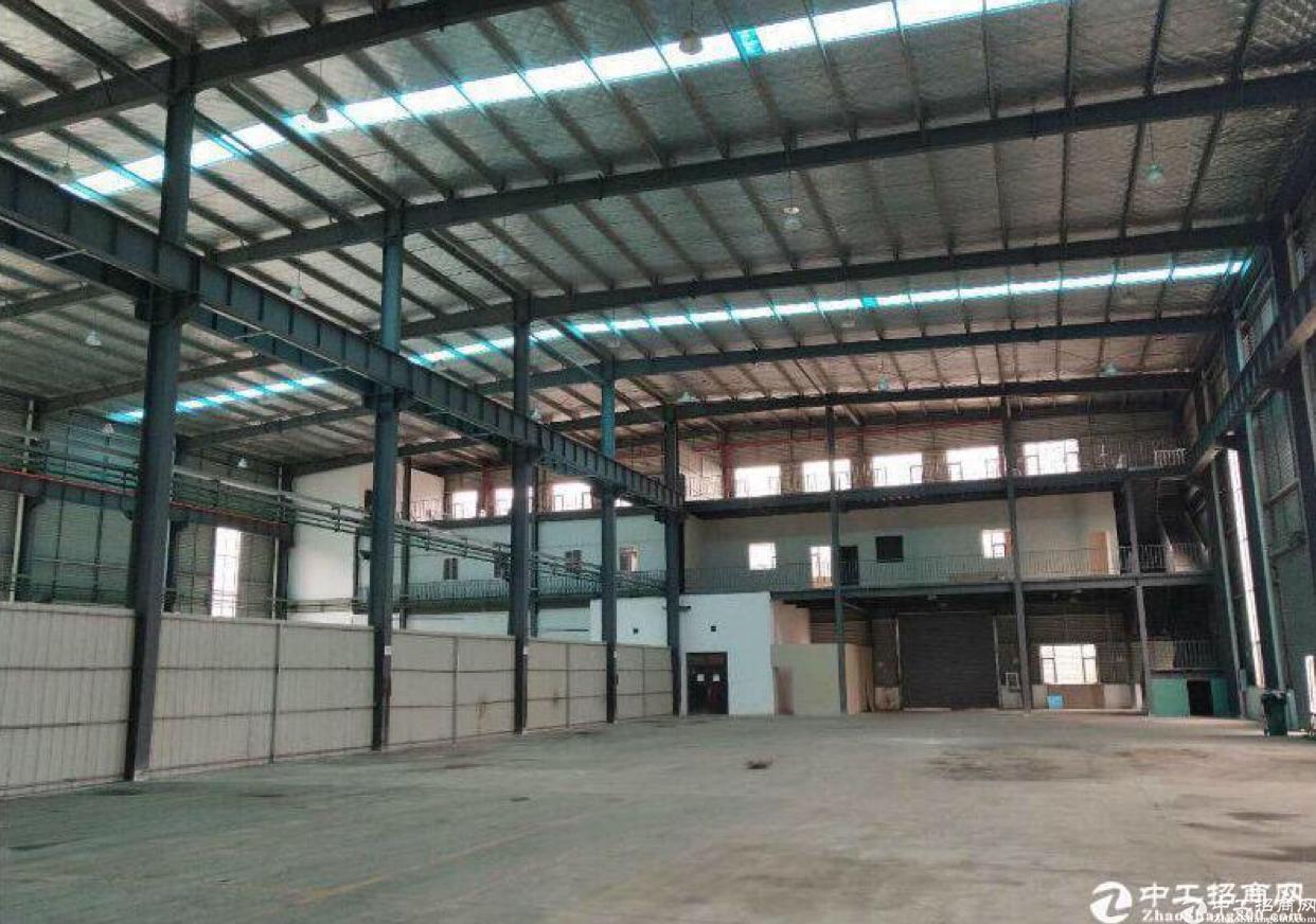黄陂钢构厂房现房出租,核心地段