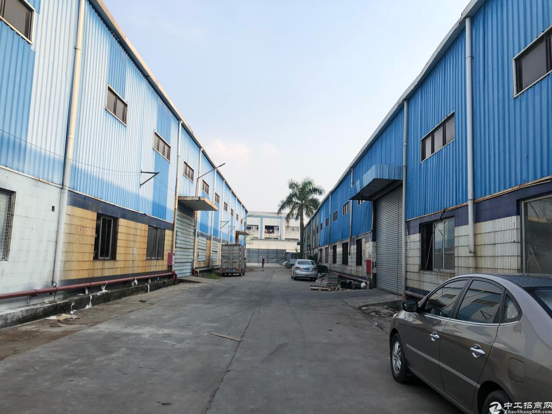 塘厦大坪钢结构适合大理石材物流仓库600平米20元