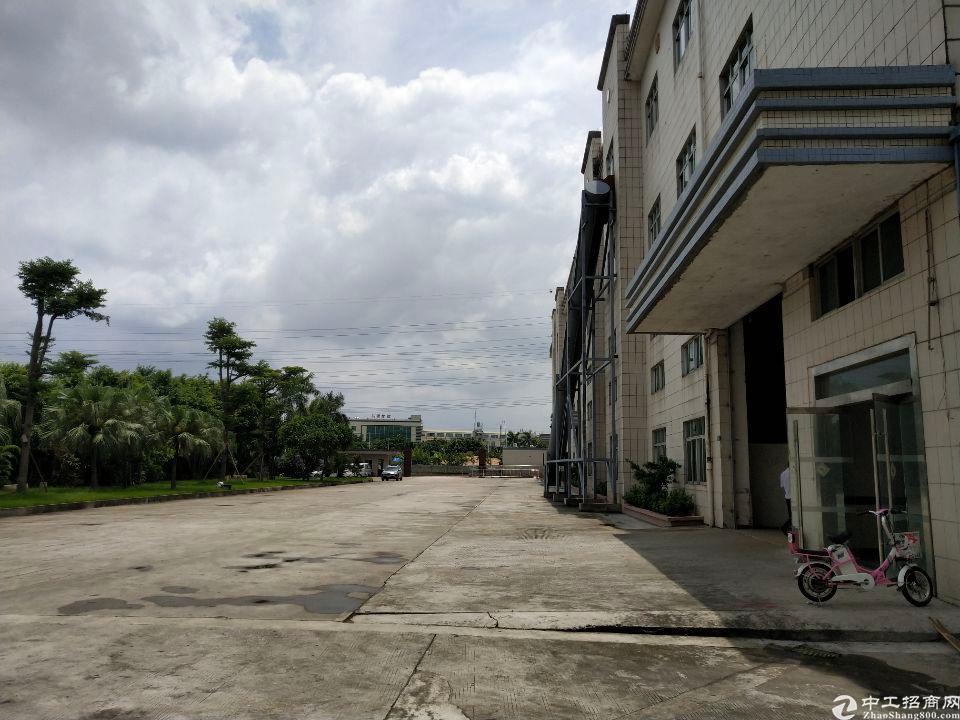 东莞花园标准重工业厂房一楼7米高10000平可8000平起租