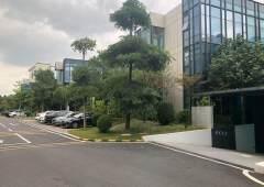 东莞松山湖CBD区域三层别墅式写字楼出租现成装修