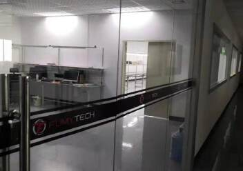 福永大洋田靠近地铁站楼上700平带装修无转让费厂房出租。图片1