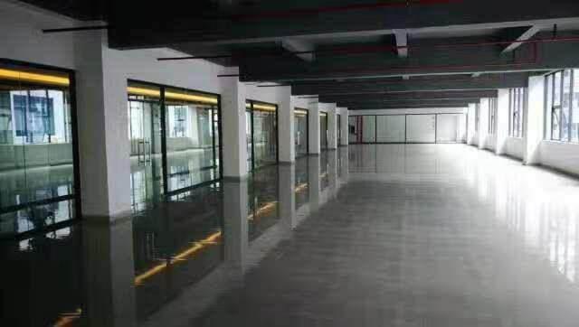 横岗地铁口附近新装修写字楼大小可分租图片2