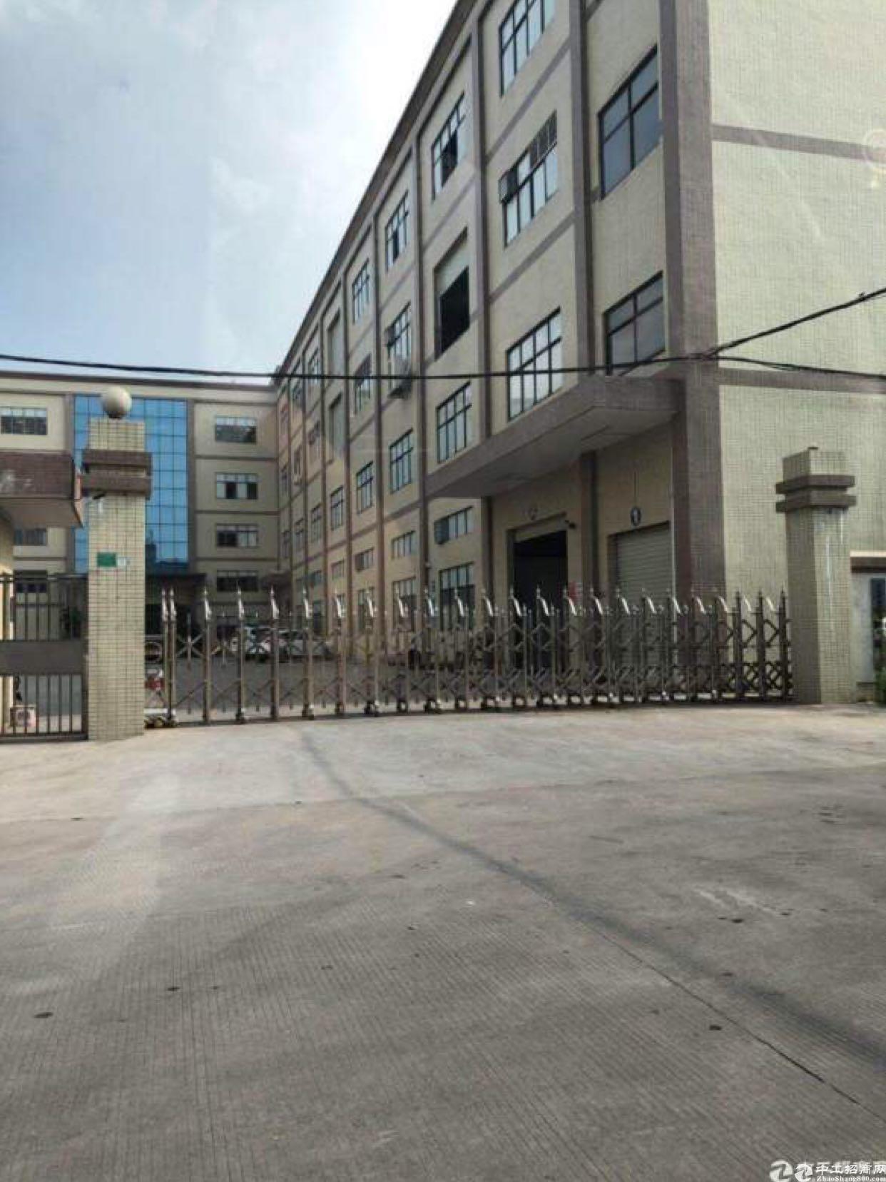 塘厦建筑5500平方国有证厂房,产权清晰业主诚心出售