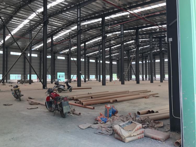 永湖镇全新10000平钢结构厂房出租证件齐全交通便利