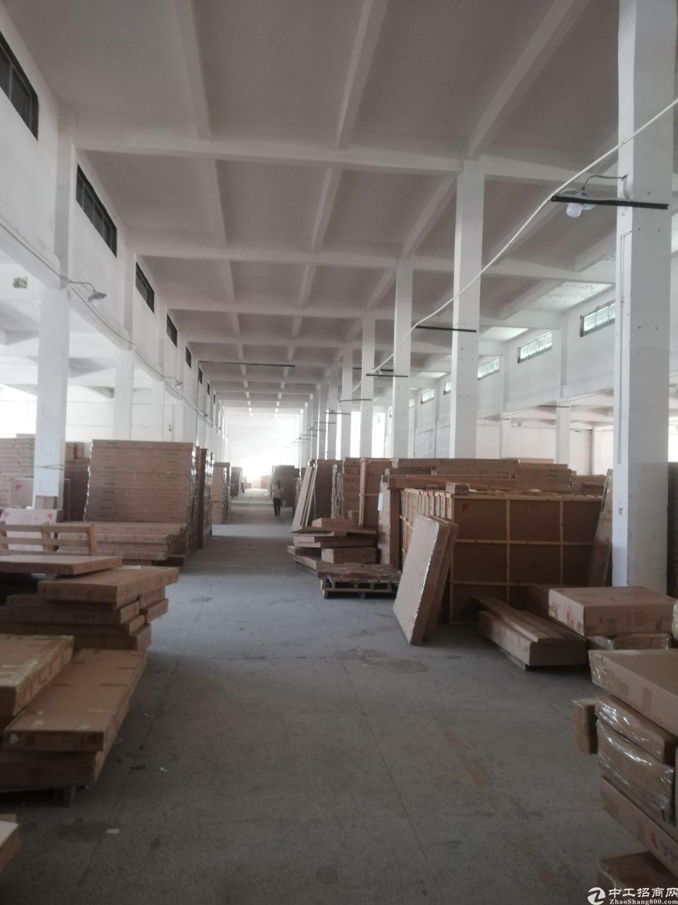 桥头镇新标准厂房二楼仓库非常合适有卸货平台