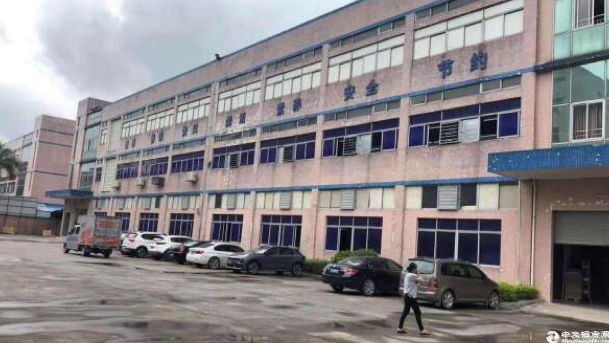 惠州仲恺主干道边占地15000平国有证厂房出售