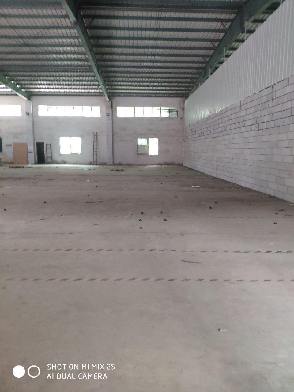 万江上甲钢结构仓库