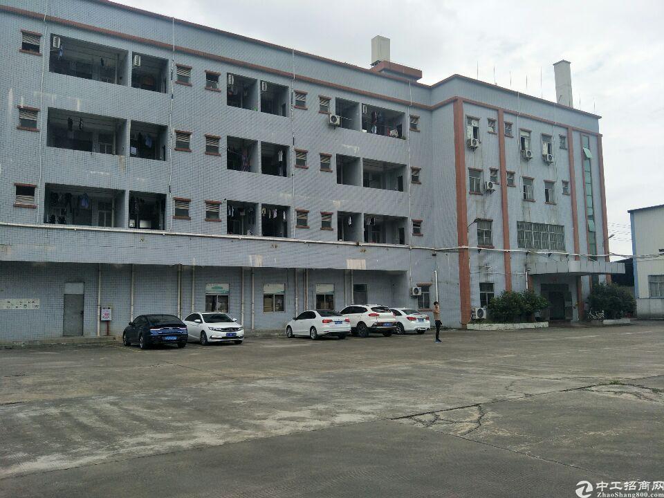 高埗环城路外标准厂房一楼分租800平,层高6米,无排水行业皆
