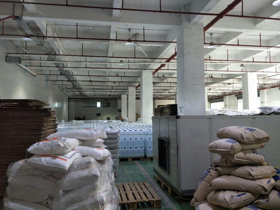 黄埔科学城新出一楼标准厂房2565平出租,有7个卸货高台